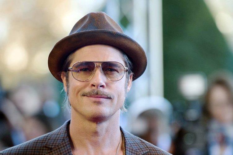 Brad Pitt ist in Paris