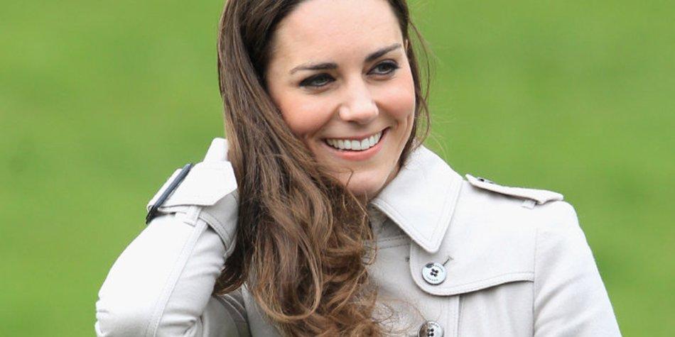 Kate Middleton schminkt sich selbst zur Hochzeit!