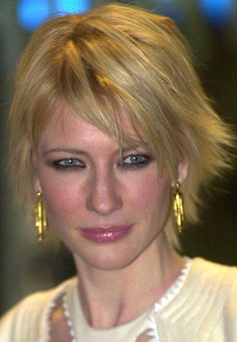 Cate Blanchett mit frechem, kurzem Bob