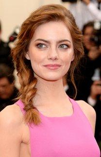 Emma Stone: Undone Fishtail