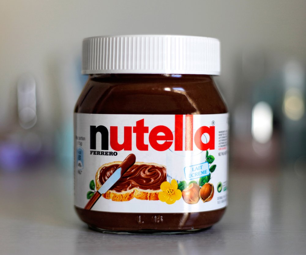Nutella Glas