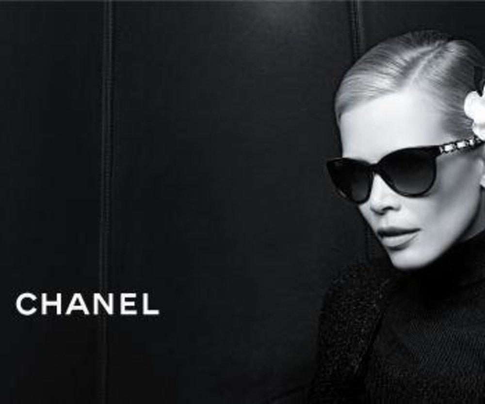 Chanel Eyewear mit Claudia Schiffer