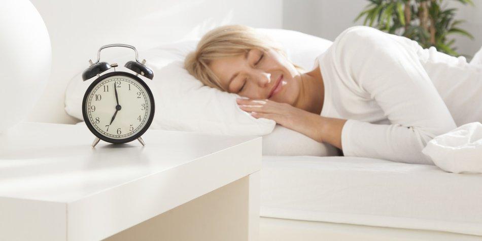 Wie viel Schlaf ist gesund