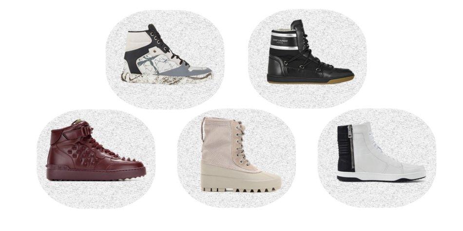 Gucci, Valentino, Yeezy, Saint Laurent, Balenciaga