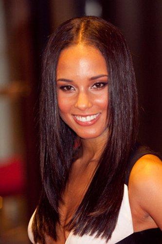 Sleek Look bei Alicia Keys