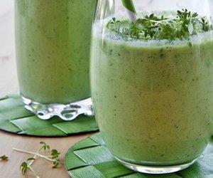 Grüner Smoothie Salat