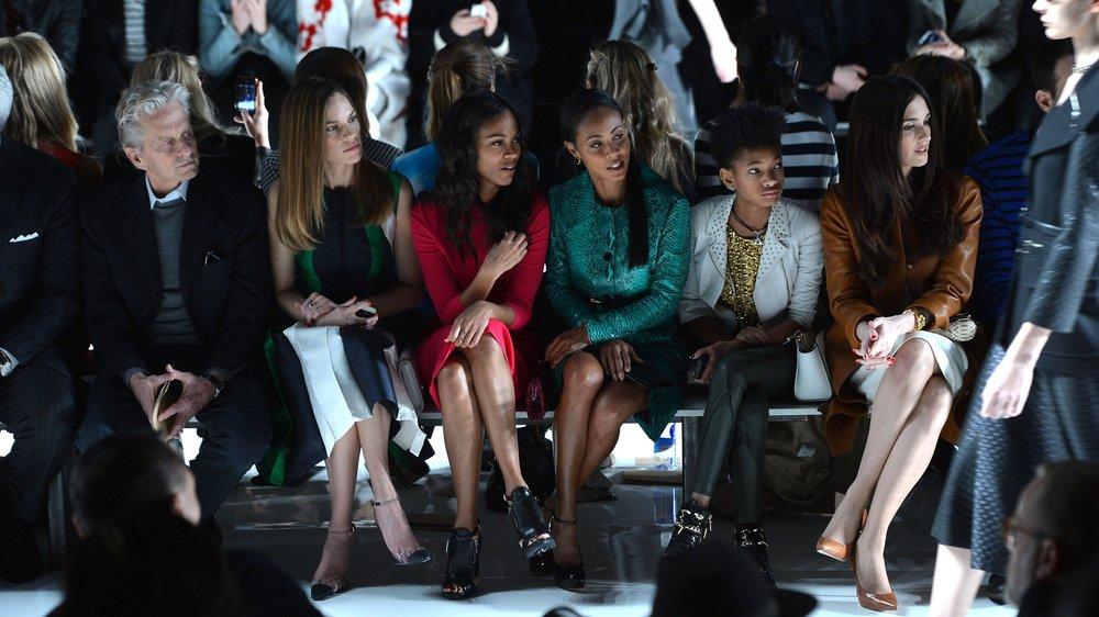 Die Frontrows bei der New York Fashion Week 2013