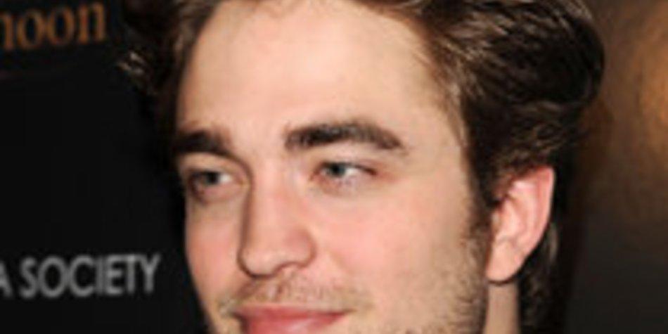 Robert Pattinson im Stress