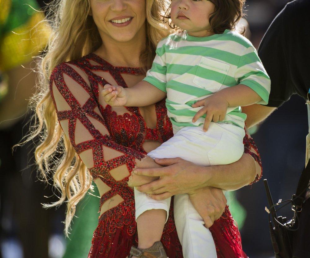 Shakira zeigt ihren Babybauch