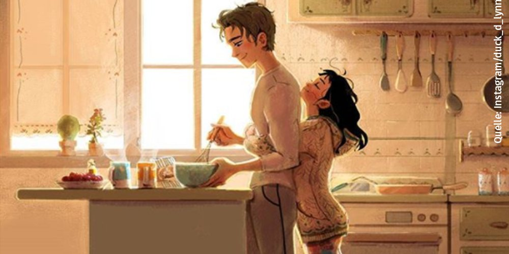 Wie zeigt sich Liebe in einer Beziehung eigentlich? Die Künstlerin Lynn Choi zeigt mit ihren Zeichnungen, in welchen Details du echte Liebe siehst... <3