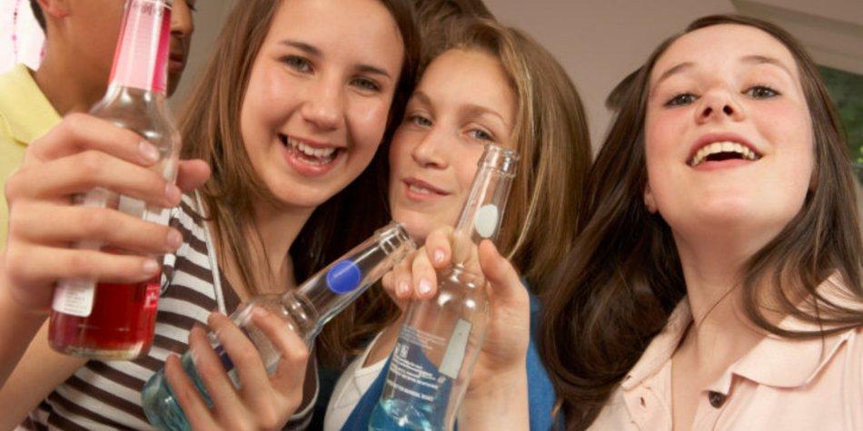 Exzessiver Alkoholkonsum bei Jugendlichen steigt an
