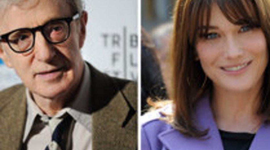 Carla Bruni spielt in neuem Woody Allen Film mit