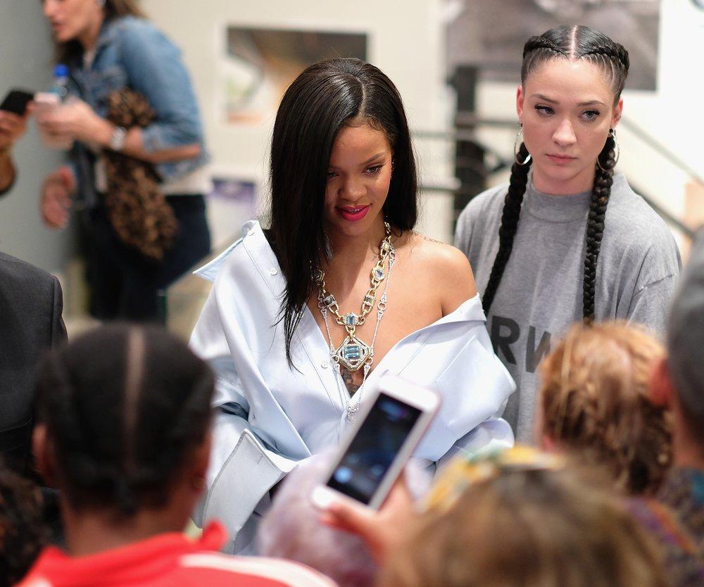 Rihanna erscheint bei einer Charity Veranstaltung der Clara Lionel Foundation