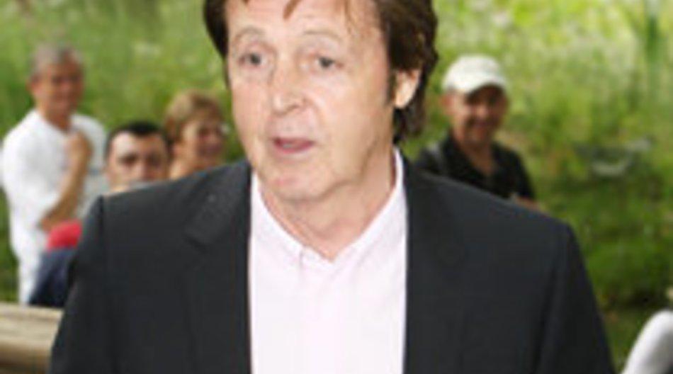 Paul McCartney gibt Konzerte in Deutschland