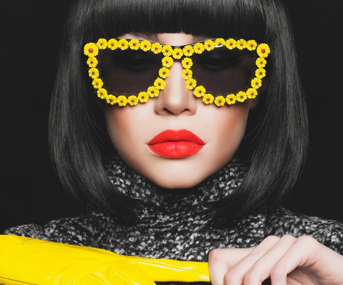 Frisuren für Brillenträger