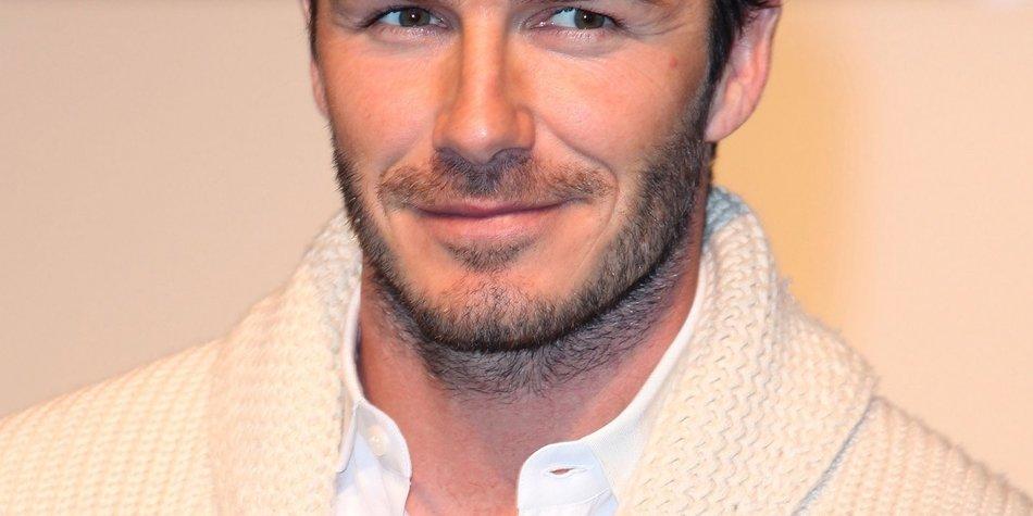 David Beckham sieht Rot