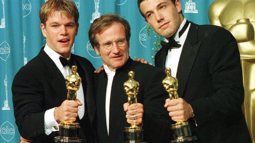 Matt Damon verabschiedet sich von Robin Williams
