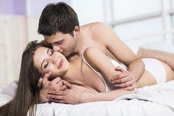 Sperma auf der Haut beim Sex