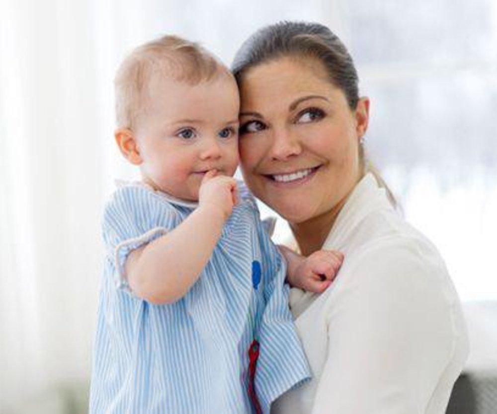 Victoria von Schweden: Estelle feiert ersten Geburtstag