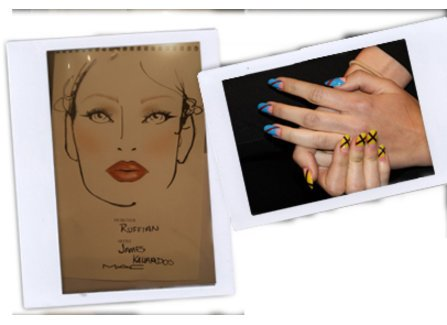 MakeUP und Nägel bei der Ruffian Show in New York