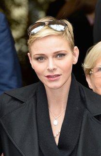 Charlene von Monaco: Pixie Cut