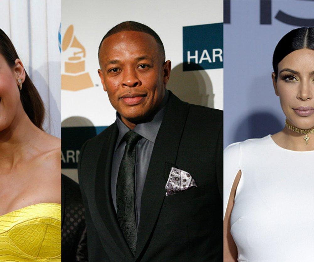Dr Dre, Kim Kardashian, Jessica Alba