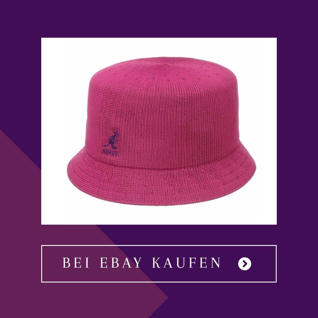 Emily In Paris Kangol Tropic Pink Bucket Hat