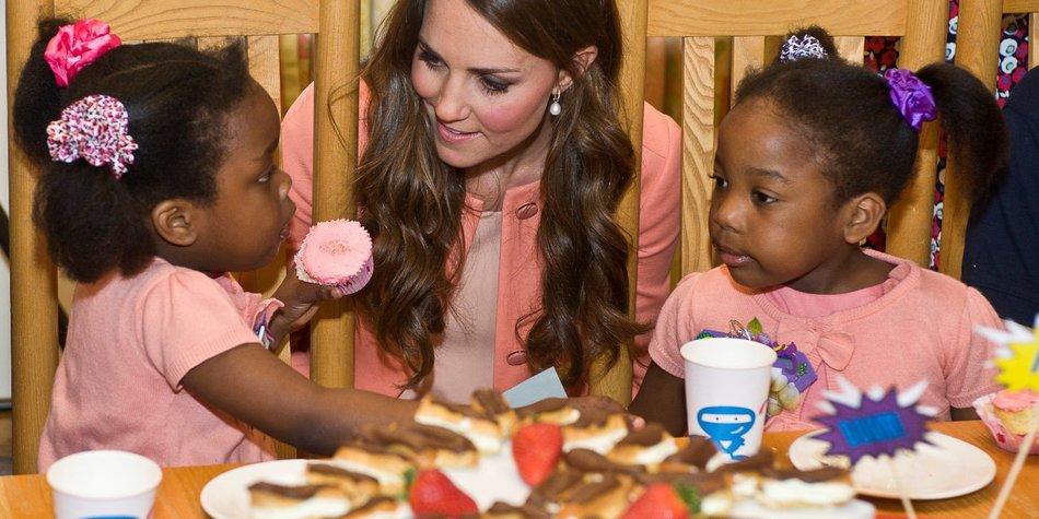 Kate Middleton: Sie bestimmt über ihr Baby!