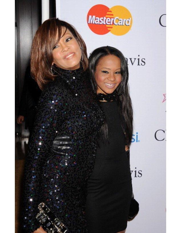 Mutter Whitney Houston udn Tochter Bobbi Kristina
