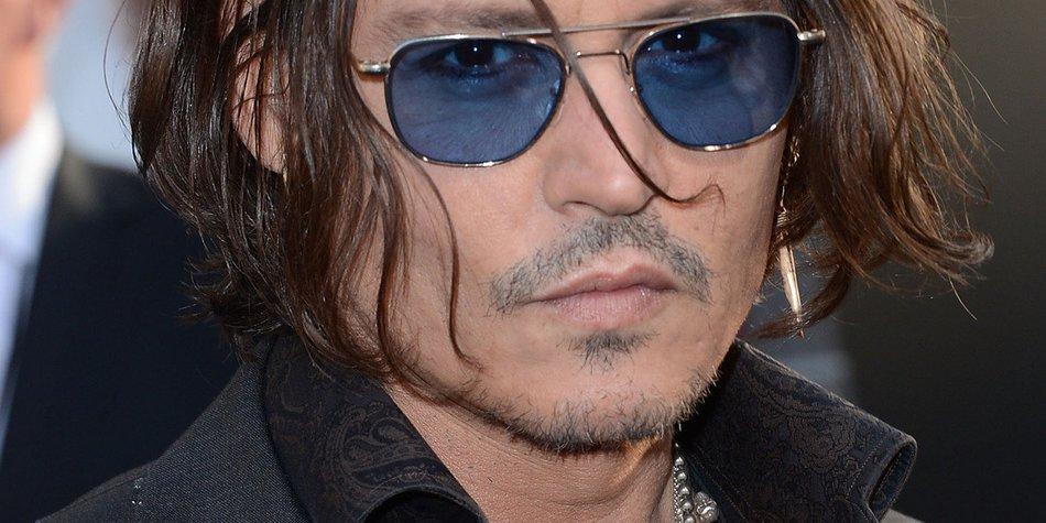 Johnny Depp knapp dem Tod entkommen