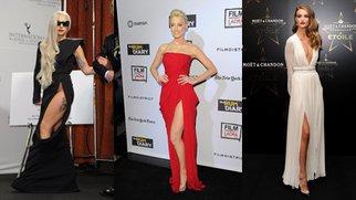Kleider mit Schlitz: Trend 2011