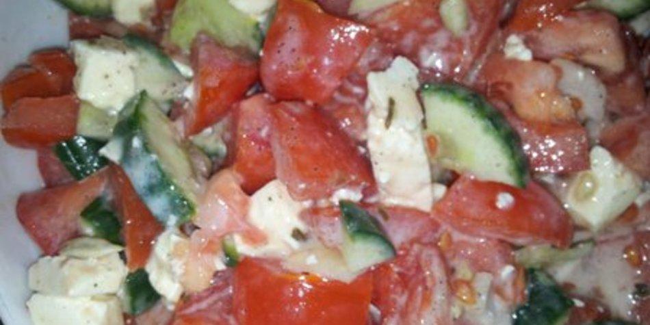 Salatsoße griechischer Salat