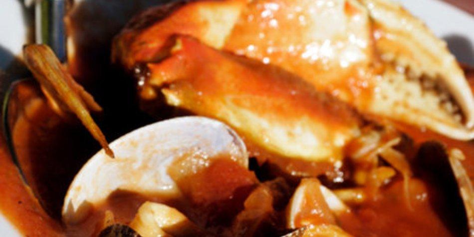 Französische Fischsuppe Bouillabaisse