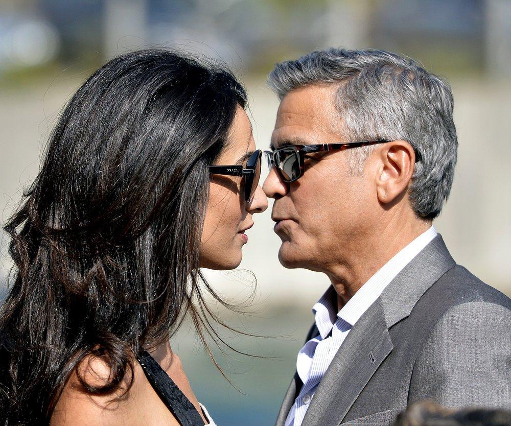 George Clooney feiert zweite Hochzeitssause