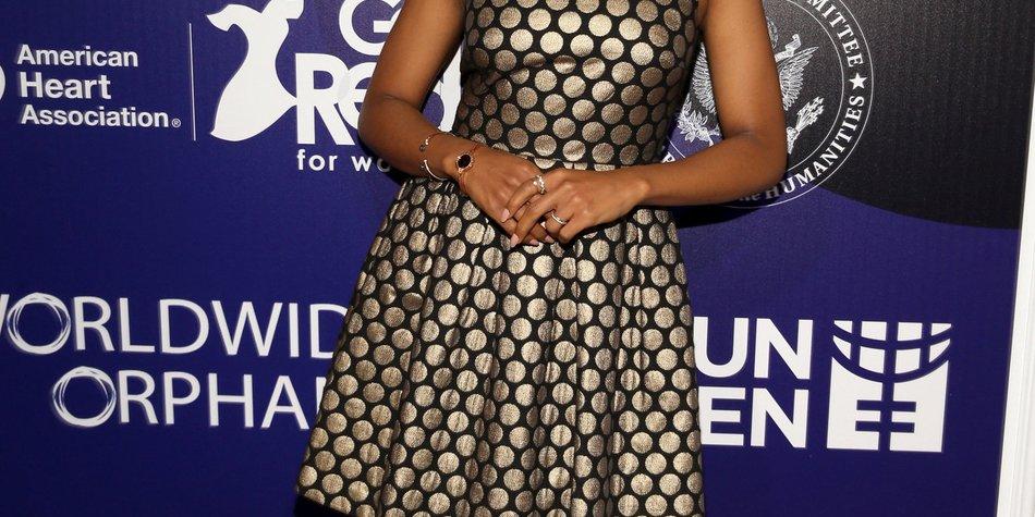 Kerry Washington: Erwartet sie ihr erstes Kind?