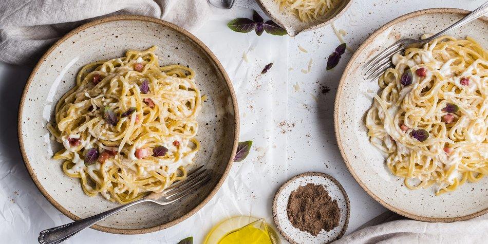Spaghetti Carbonara Ohne Ei Desiredde