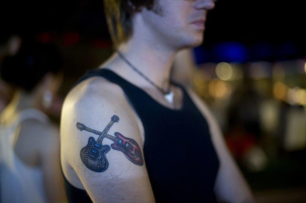 Gitarren Tattoo