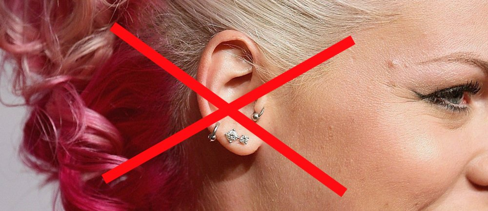 normale piercings out