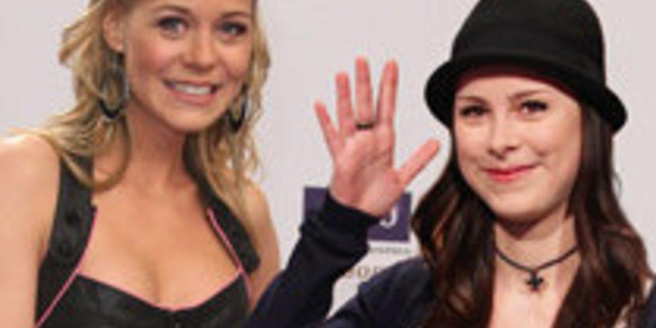 "GZSZ-Star Jessica Ginkel in Telenovela ""Lena"""