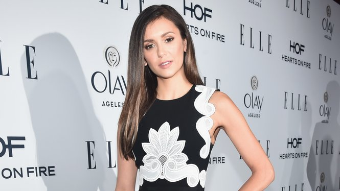 WEST HOLLYWOOD, CA - JANUARY 20: Actress Nina Dobrev attends ELLE's 6th Annual Women In Television Dinner at Sunset Tower Hotel on January 20, 2016 in West Hollywood, California. (Photo by Alberto E. Rodriguez/Getty Images for ELLE)