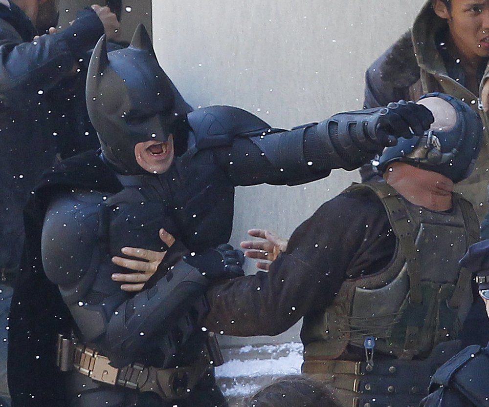 The Dark Knight Rises wechselt Drehort