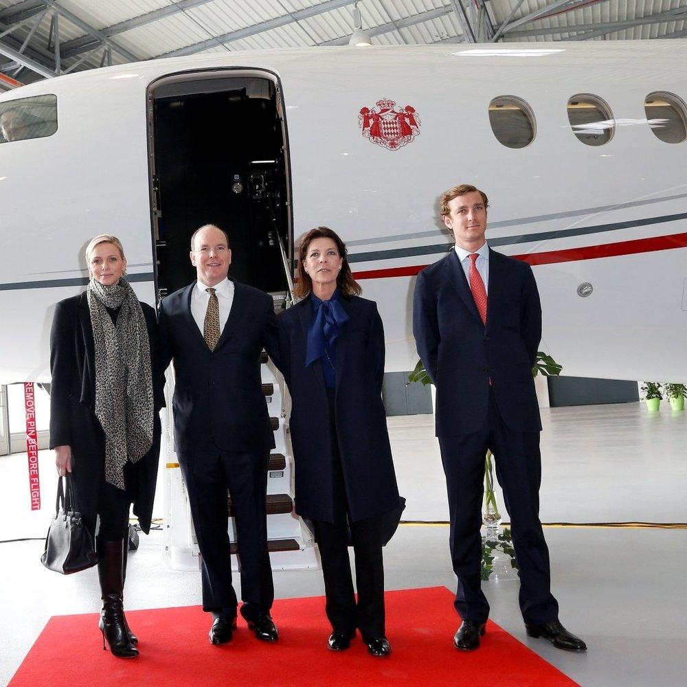 Charlene Wittstock und Fürst Albert gönnen sich einen neuen Privatjet