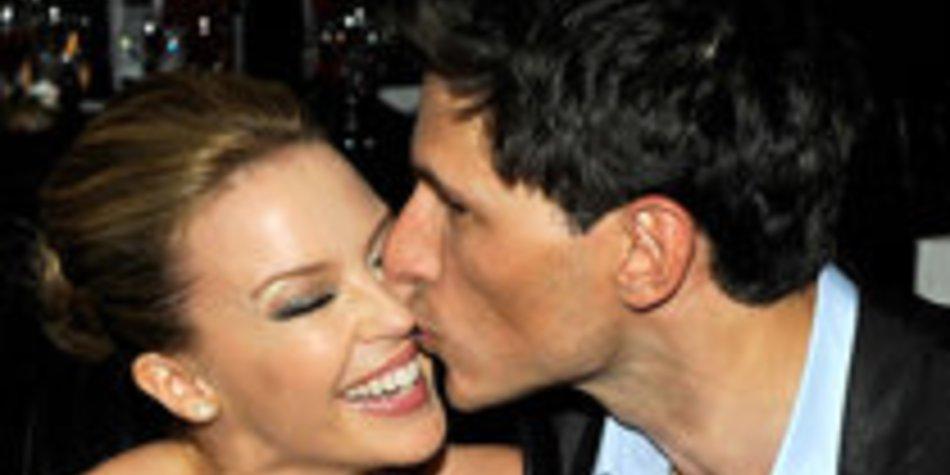 Kylie Minogue auf Wolke 7