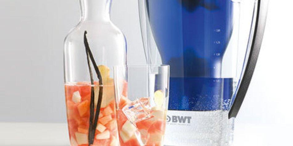 Melone-Ingwer-Wasser