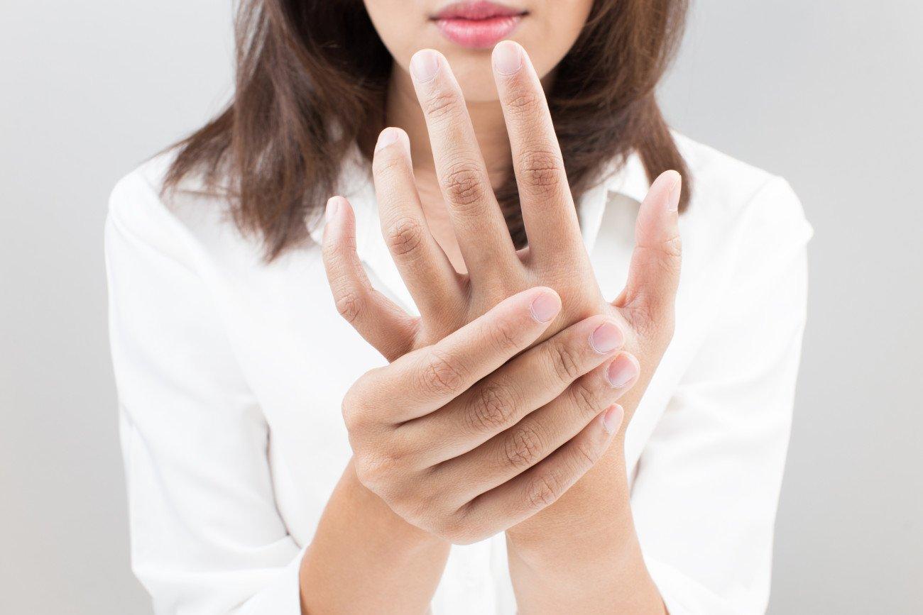 Geschwollene Hände