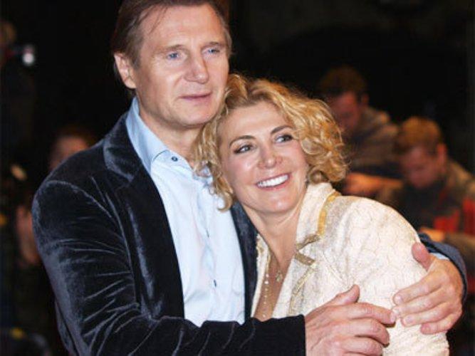 Natasha Richardson und ihr Witwer Liam Neeson