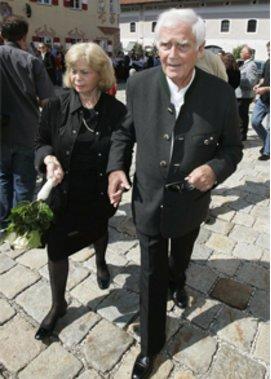 Blacky Fuchsberger und seine Ehefrau Gundula