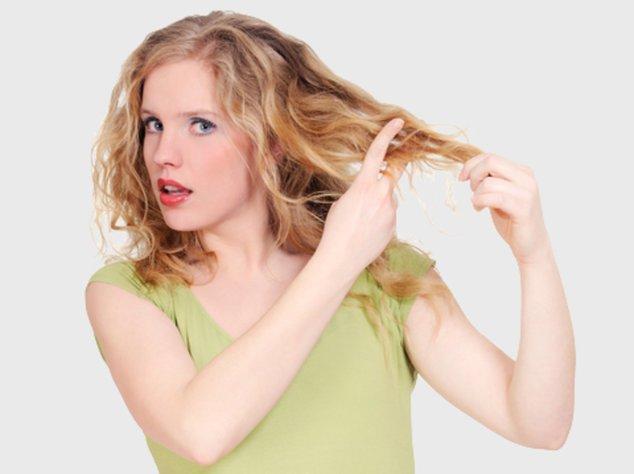 Trockene Haare sind lästig