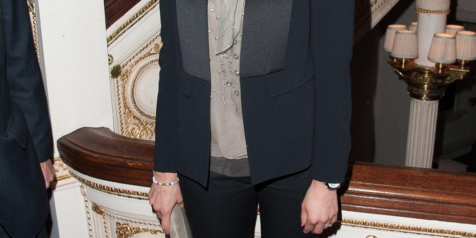 Prinzessin Madeleine ist in Schweden angekommen