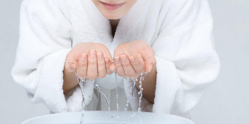 Wasser Peeling
